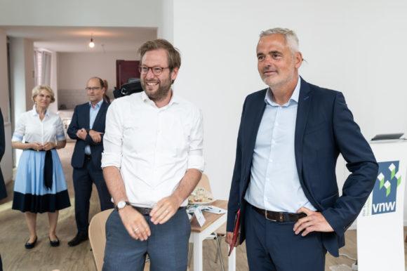 """""""Sommertour"""" des GdW-PräsidentenAxel Gedaschko"""